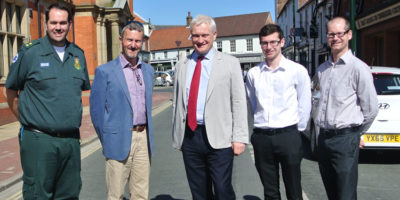 Beverley Resident Praised For  His Defibrillator Coverage Campaigning