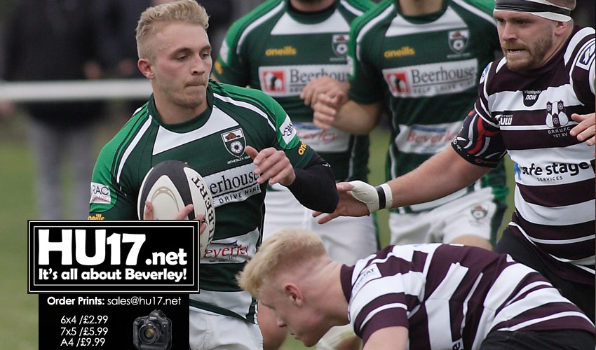 GALLERY : Beverley RUFC Vs Old Rishworthians