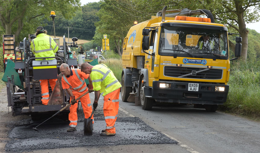 Completion Of £2.15m Scheme To Improve East Riding Roads