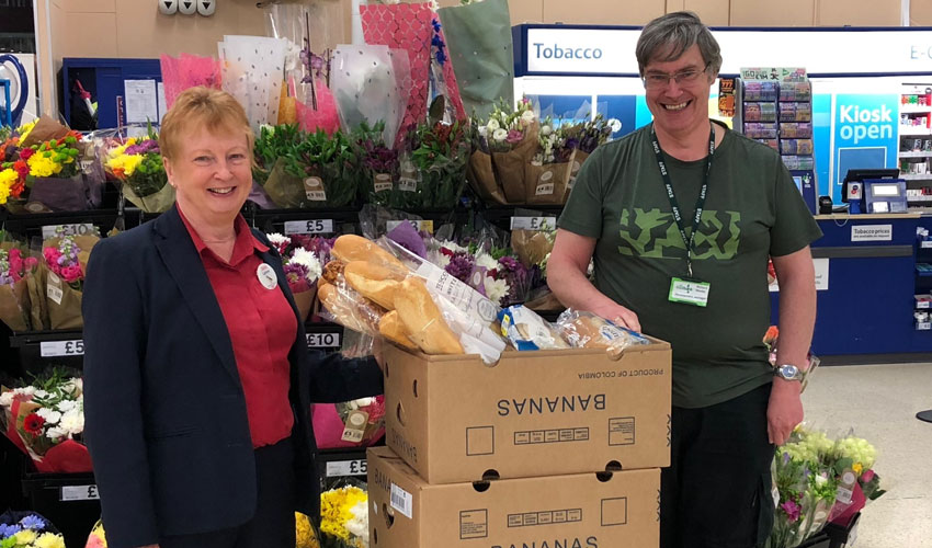 Tesco Introduce App To Support Community Food Connection Project