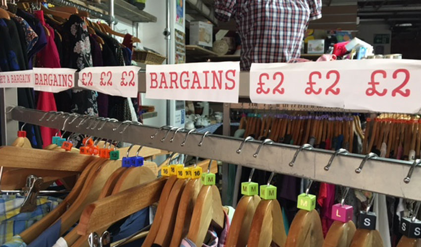 Charity Shops Help Solidify Town Centres And Tackle Social Issues