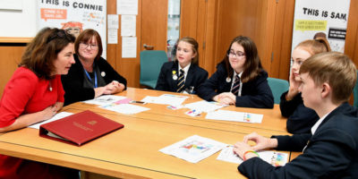 East Riding School Children Celebrate Right To Be