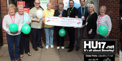 Dove House Menswear Charity Shop Celebrate Five Successful Years