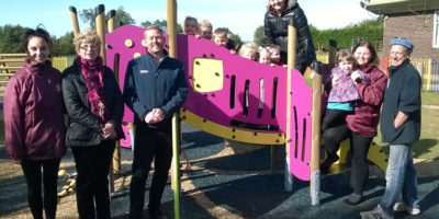 Leven Playing Field Association Thank Tesco For £2,000 Grant