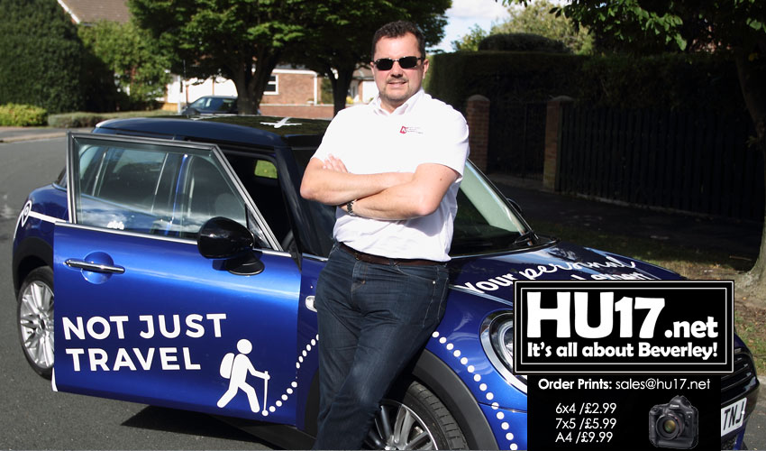 Travel Consultant Karl Douglas From Beverley Wins Mini Cooper