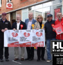 Protest To Save Beverley's Crown Post Office Unites Political Parties