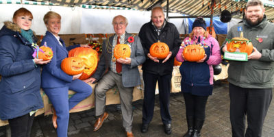 Pumpkin Competition Held By Market Traders Attracts Spook-Tacular Entries