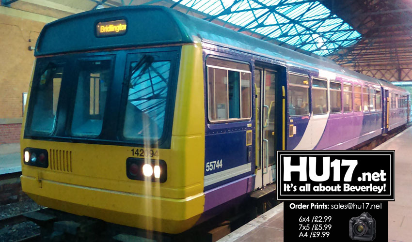 Train Journey Between Beverley & Hull - An Outdated Experience