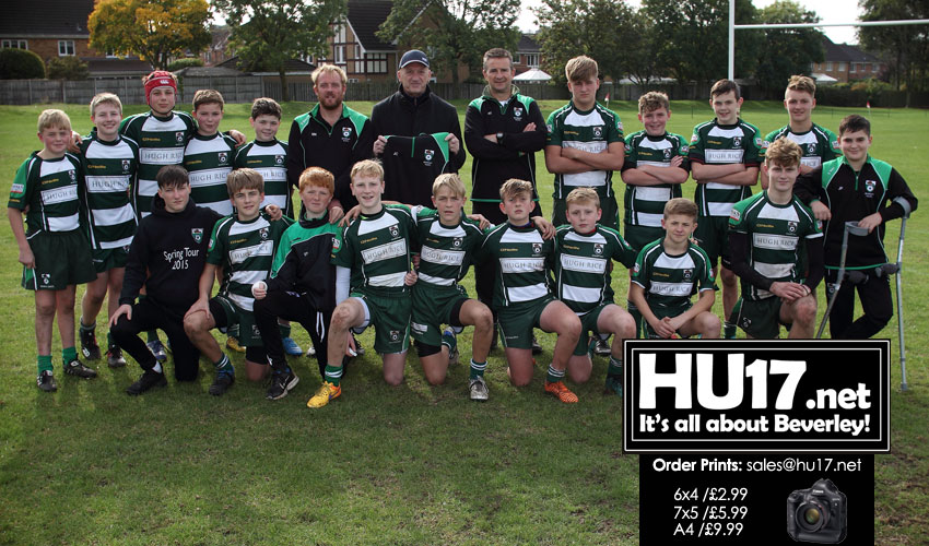 Beverley U14s Show Spirit But Go Down Away At Hull Ionians