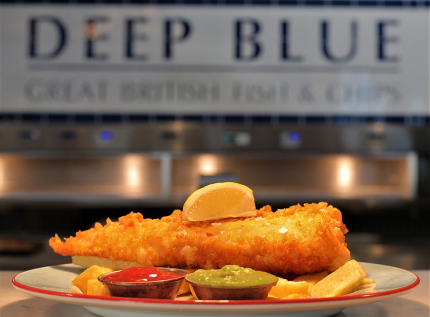 Deep Blue Fish and Chips Restaurant Take A Look Around Inside
