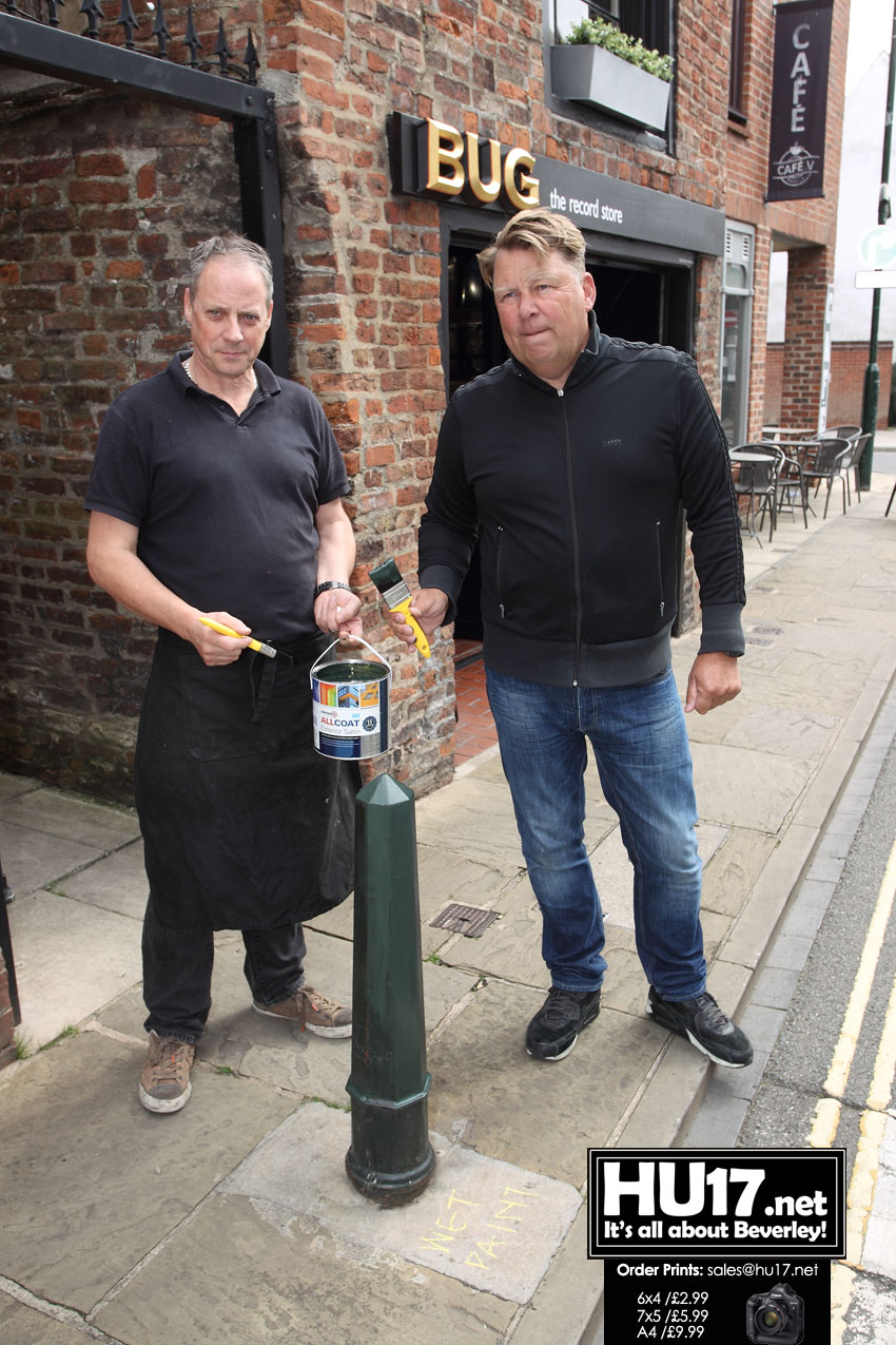 Beverley Businesses Are Painting The Town Green