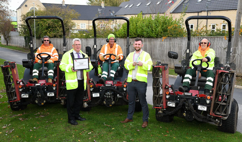 Grounds Maintenance Team At ERYC Win Innovation Award