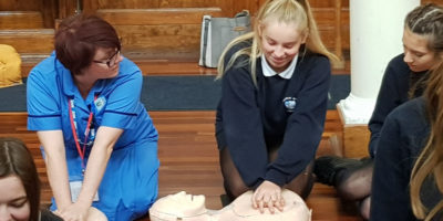 High School Pupils Join Thousands Learning Life Saving Skills
