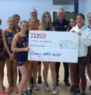 White Cross Netball Club Awarded £1000 By Tesco Beverley