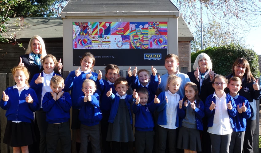 Peter Ward Homes Fully Fund Storage Shed For Local School