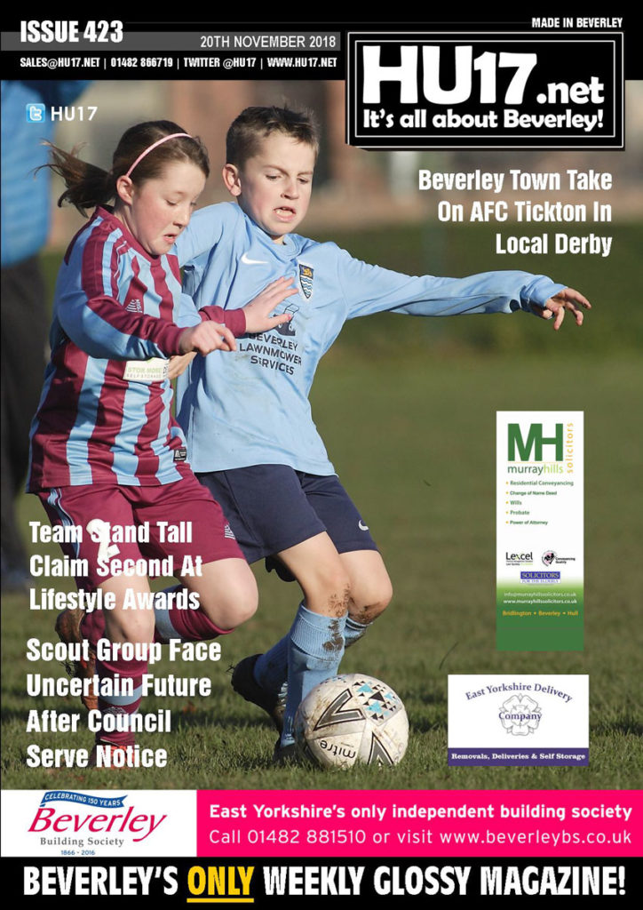 HU17.net Magazine Issue 423 | Beverley's ONLY Weekly Magazine