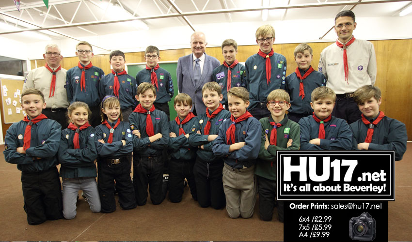 Molescroft Scouts Should Get Cash Offer From ERYC Says Cllr Healy