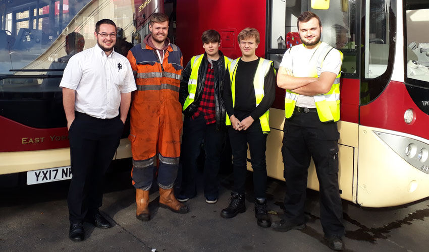Four New Apprentices Taken On By EMYS After Almost 200 Applied