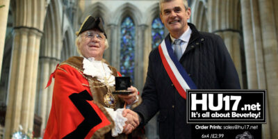 Brévelay Mayor Impressed With Beverley And Its Minster