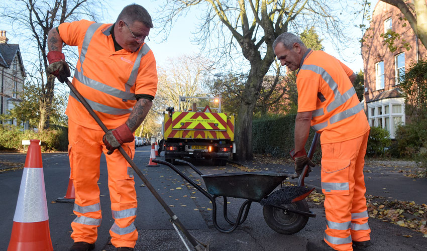 Record Number Of Potholes In East Yorkshire Filled in 2018