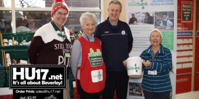Foodbank Boost Stocks With Support Of Local Tesco Stor