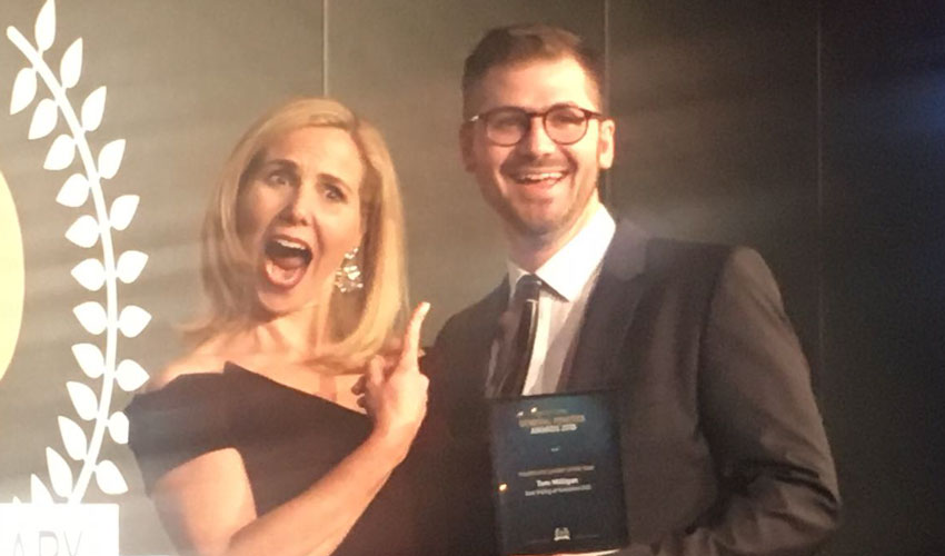Dr Tom Milligan Scoops Top Award For Approach To Healthcare