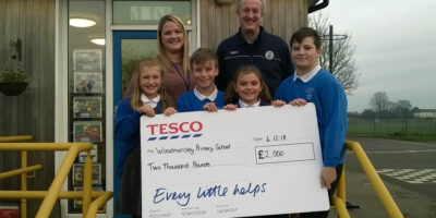 Woodmansey Primary School Are Thrilled After They Bag Two Grand