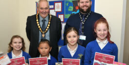 Prizes For Young Winners Of Beverley Market Colouring Competition