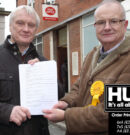 Petition Opposing Post Office Relocation Handed Over To MP
