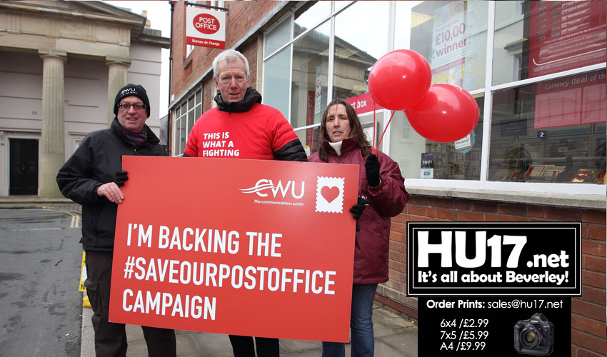 Communication Workers Union Say Beverley Deserves A Crown Post Office