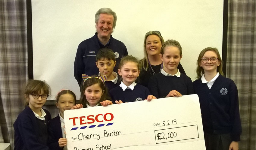 Tesco Grants Awarded To Help Fund Local Community Projects