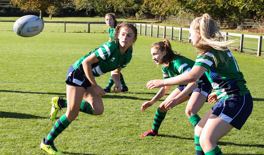 College To Become Centre Of Excellence For Women's Rugby Club