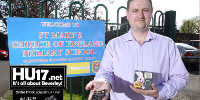Local Councillor Backs St Mary's School Big Battery Hunt