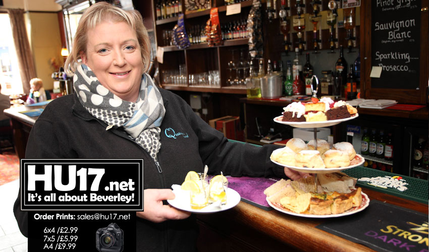 Afternoon Tea  - The Queens Head Capitalise On Growing Trend