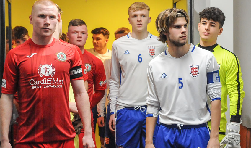 Bishop Burton College Footballer Named As England's Captain