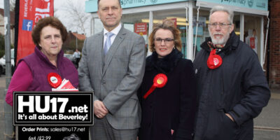 Police And Crime Commissioner Lends His Support Labour Candidates