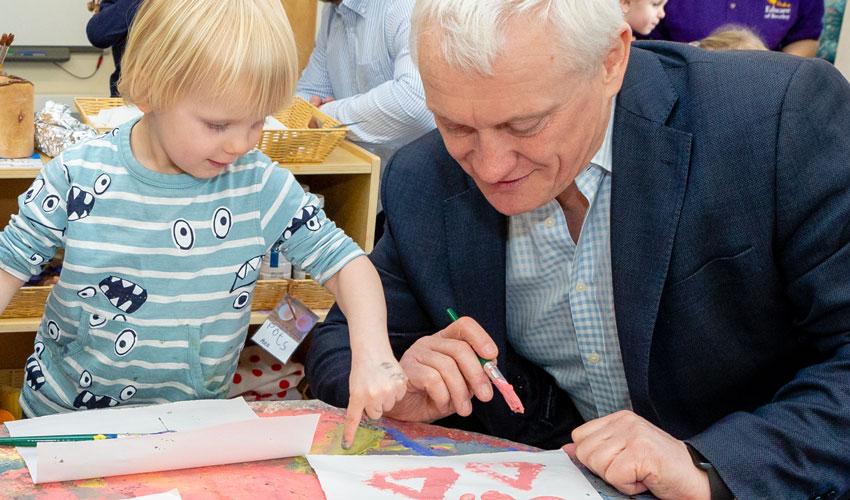 Educare Nursery Says It Was A Pleasure To Host MP