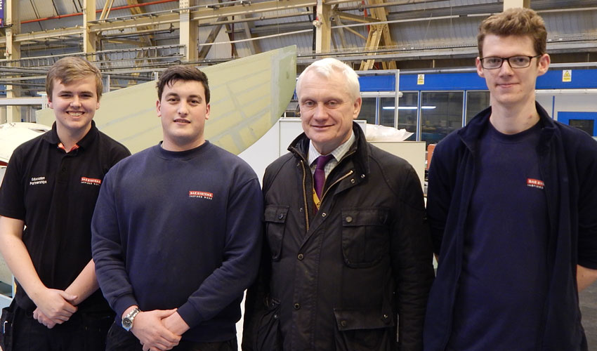 National Apprenticeship Week Celebrated By Local MP
