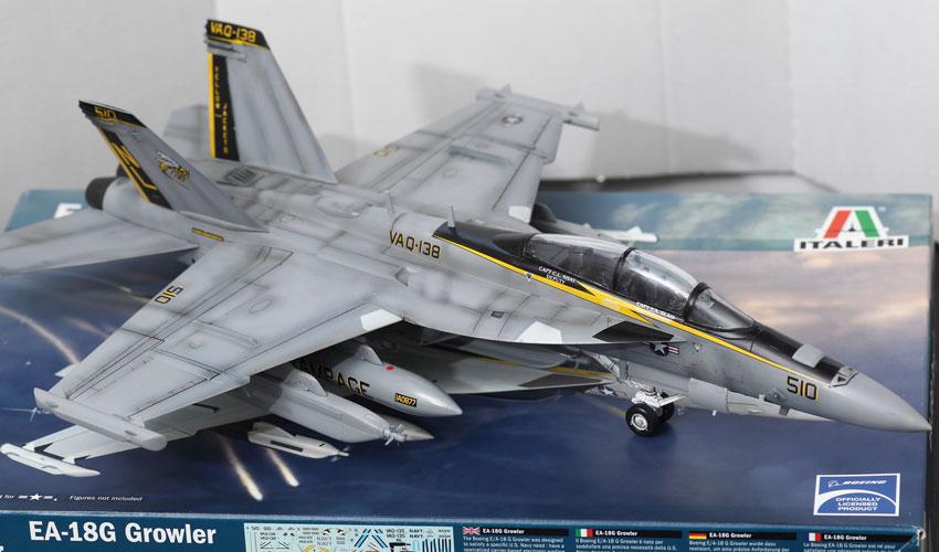 ITALERI - EA - 18G Growler Build Review And Photos
