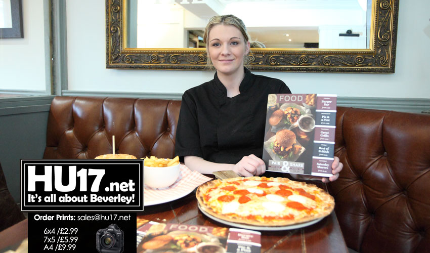 New Menu At The Grapes Is Proving A Hit With Customers