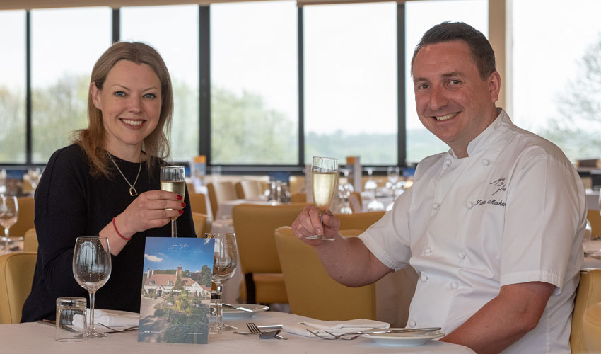Michelin-Starred Chef Puts Racegoers On To A Winner In The Dining Stakes