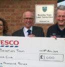 Beverley Town Tennis Club Award Cash To Help Fun Refurbishments