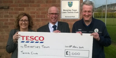 Beverley Town Tennis Club Award Cash To Help Fun Refurbishments