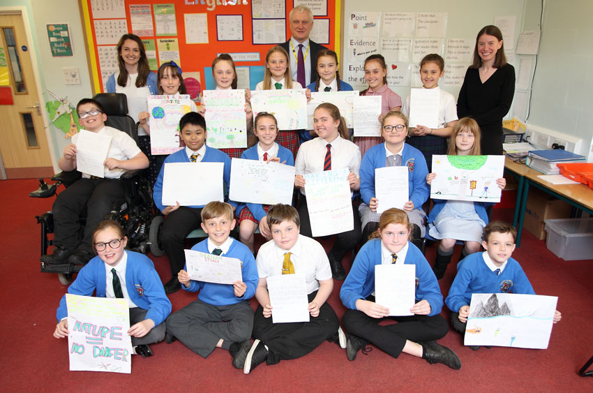 Climate Change Up For Discussion As MP Is Grilled By Local School Pupils
