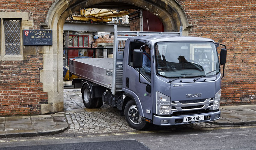 Isuzu Grafter Green Carves Out Its Reputation At Historic York Minster