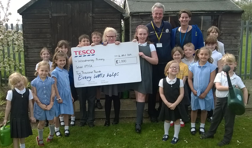 Woodmansey School Awarded Cash To Help Fund Outdoor Project