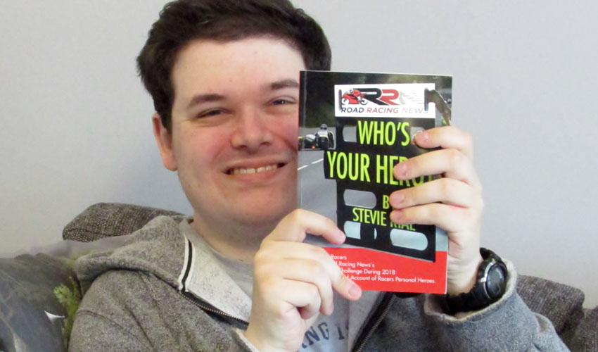 Who's Your Hero? - Road Racing News Journalist Releases Book