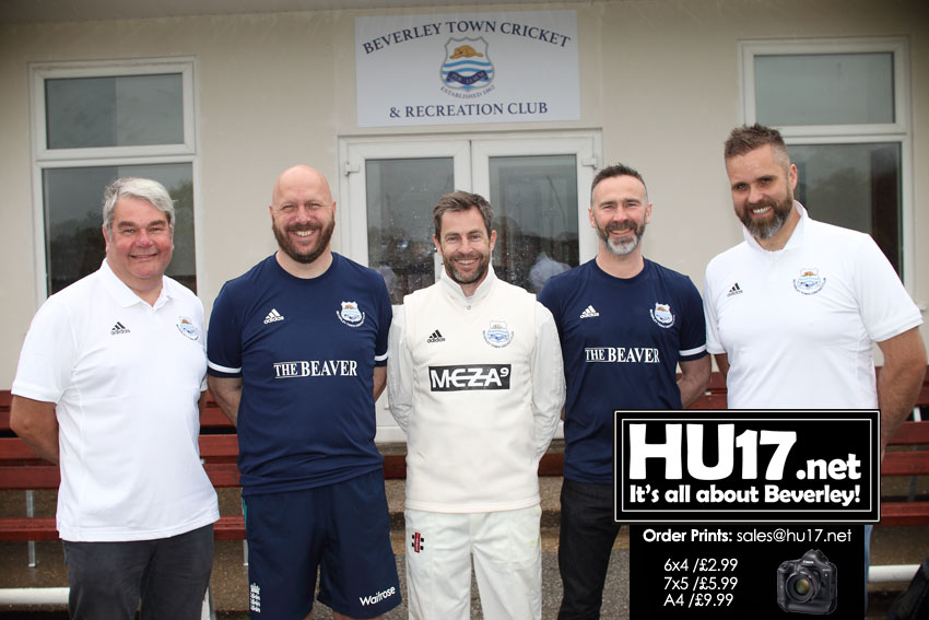 Beverley Town Cricket Club Invite Sponsors To Club On A Historic Day