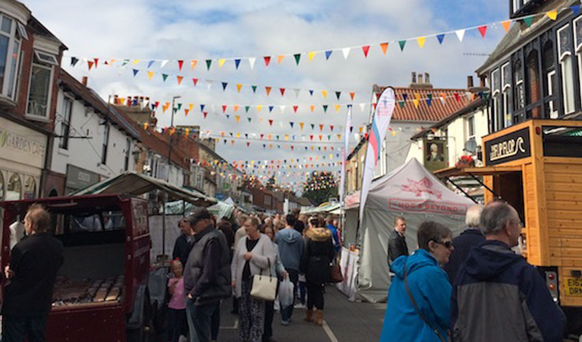 Seventh Heaven for Cottingham Food and Drink Festival