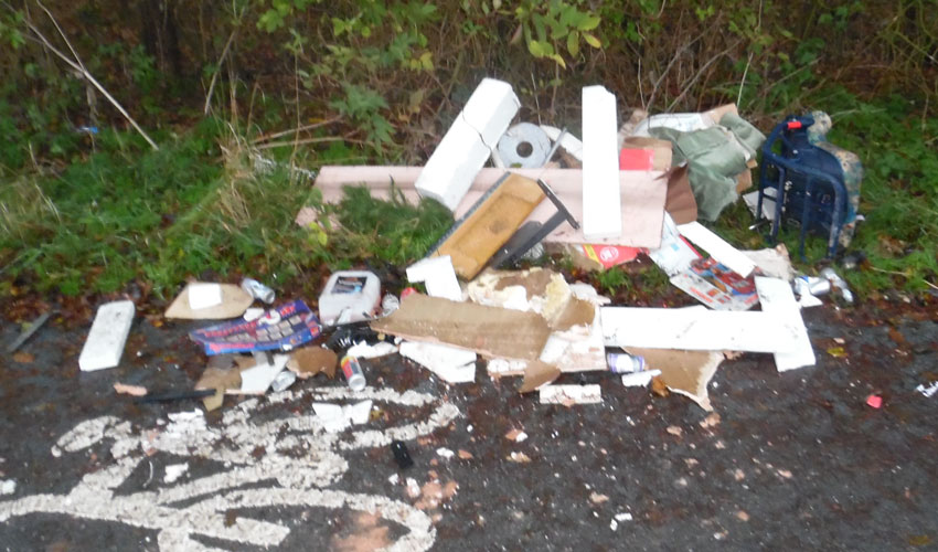 Man Fined After Wood And Rubble Fly-Tipped In Tickton And Little Weighton